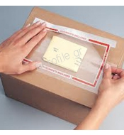 ADHESIVE POUCHES FOR COURIER